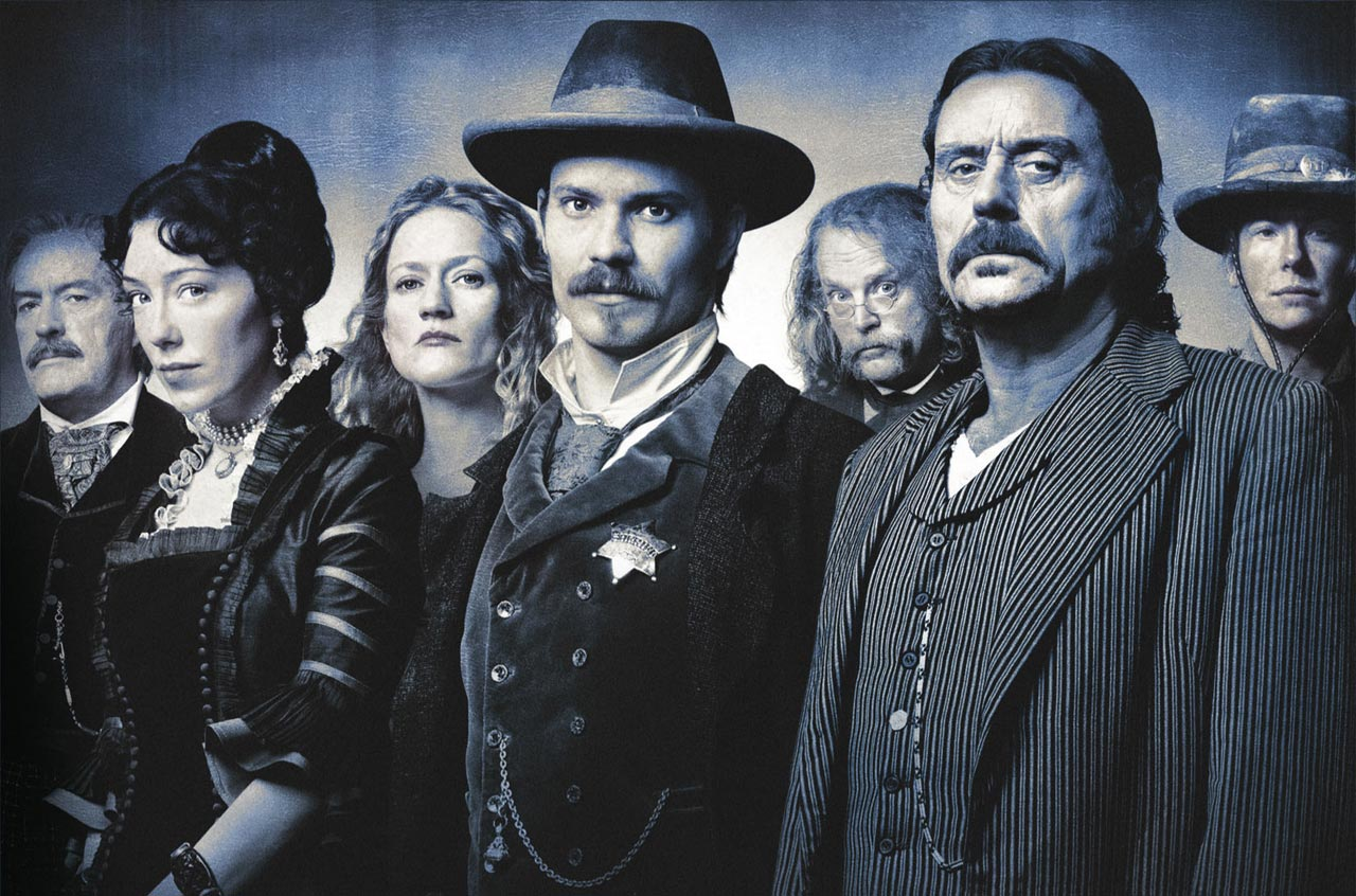 protagonistas Deadwood