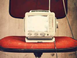 televisor retro vintage