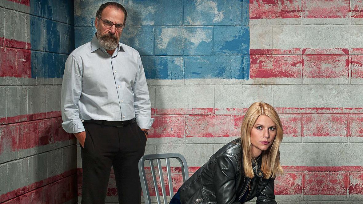 Carrie y Saul en Homeland
