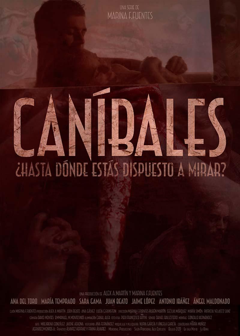 poster de la serie caníbales