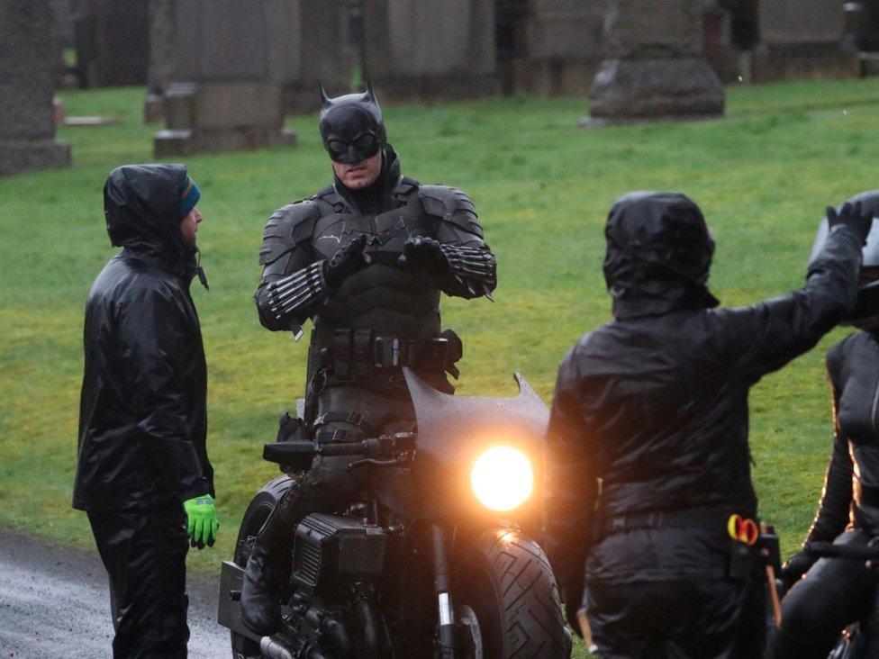 nueva película de Batman rodaje