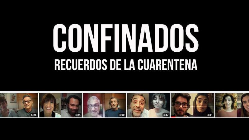 webserie confinados recuerdos de la cuarentena