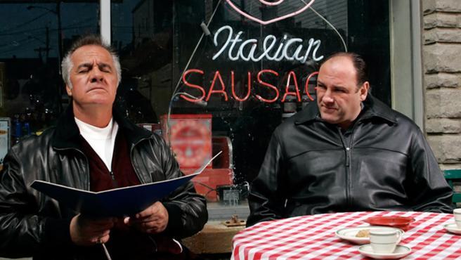 Tony Soprano y Paulie