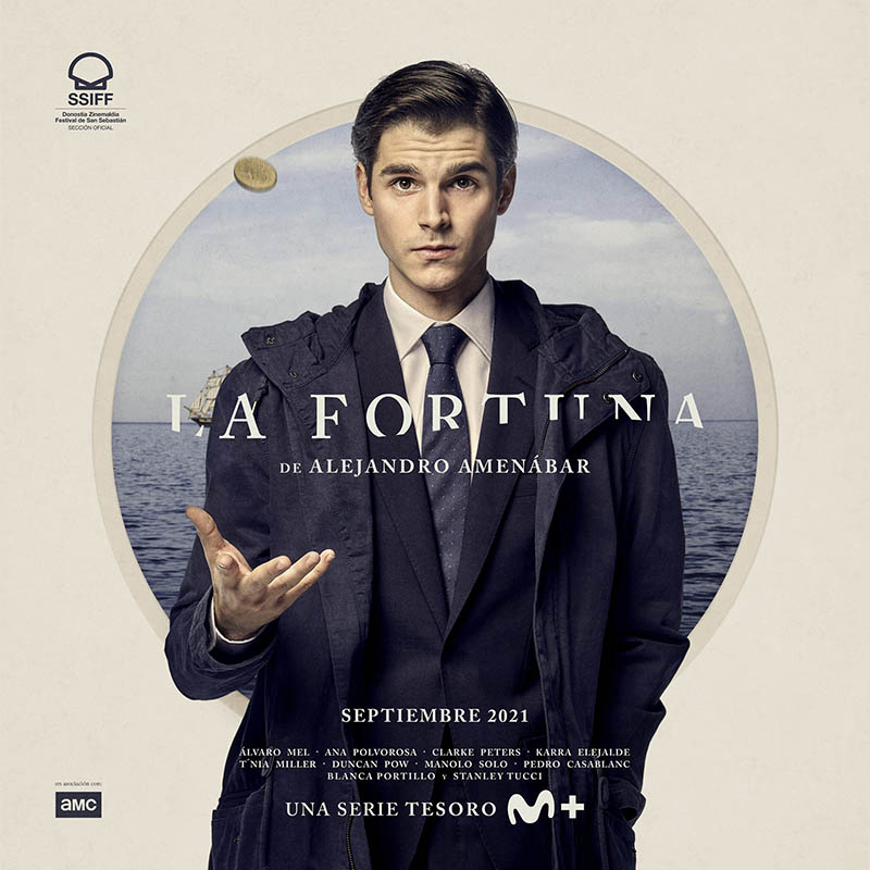 Cartel de La Fortuna serie de Alejandro Amenábar
